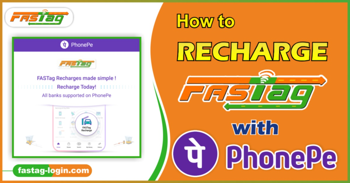 How to Recharge Fastag with Phonepe